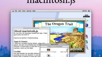 Projeto emula Mac OS 8 no Windows, macOS e Linux