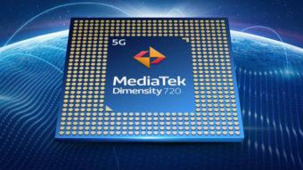 MediaTek lança processador com 5G para celulares intermediários