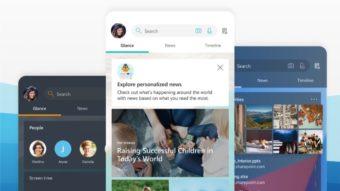 Microsoft Launcher 6 para Android traz modo escuro e novos ícones