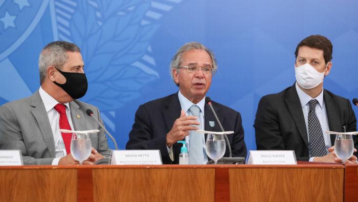 Paulo Guedes, ministro da Fazenda (Foto: Marcos Corrêa/PR - 15/07/2020)