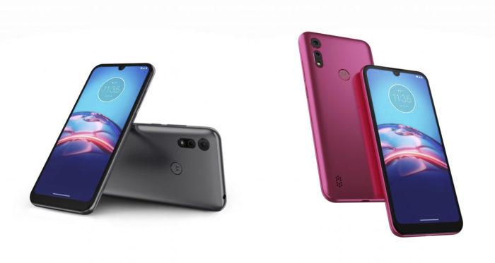 Motorola Moto E6S ganha novas opções de cores: cinza titanium e pink (Foto: Divulgação/Motorola)