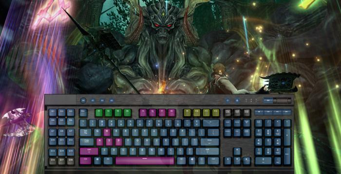 mouse e teclado ps4 / Square Enix / Divulgação