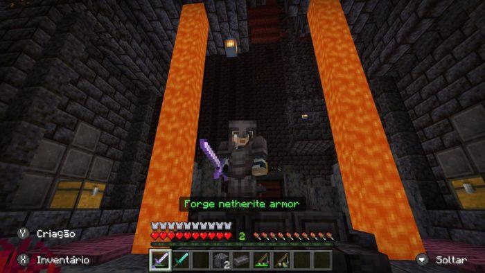 Como encontrar Netherite no Minecraft / Felipe Vinha / Reprodução