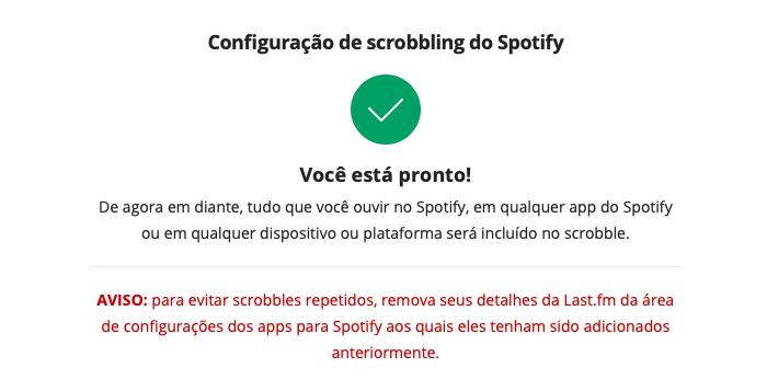 Como conectar o Spotify ao Last.fm/Reprodução/Bárbara Chieregate