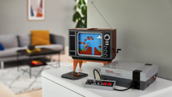 Nintendinho e Super Mario Bros. ganham versão em Lego (com TV!)