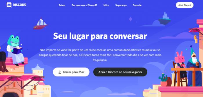 O que é Discord? / Felipe Vinha / Reprodução