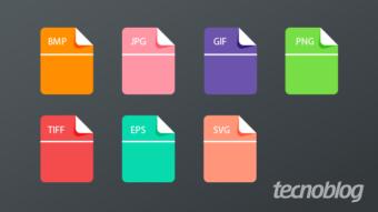 O que são os formatos BMP, JPG, GIF, PNG, TIFF, EPS e SVG?