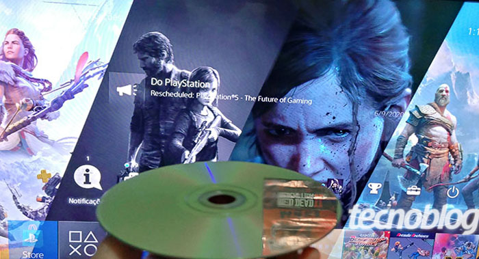O PS4 roda DVD / André Leonardo / Tecnoblog
