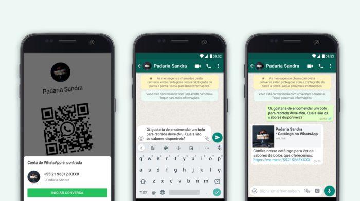 QR Codes chegam ao WhatsApp Business / Divulgação