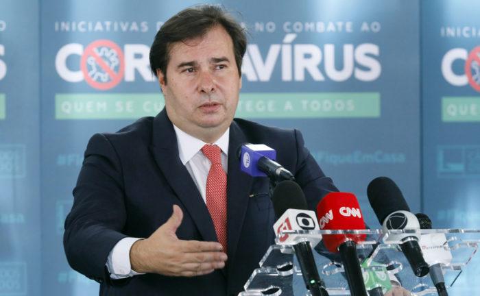 Rodrigo Maia planeja discutir PL das fake news esta semana (Foto: Maryanna Oliveira/Câmara dos Deputados - 30/06/20)
