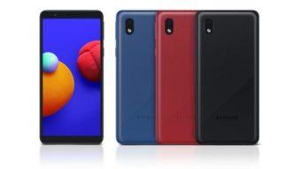 Samsung lança Galaxy A01 Core com Android Go
