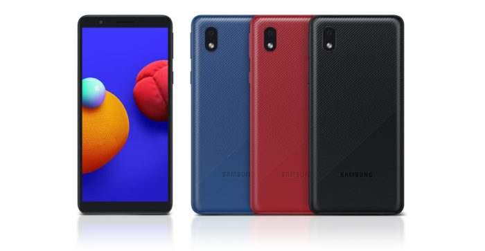 Samsung lança Galaxy A01 Core com Android Go (Foto: Divulgação/Samsung)