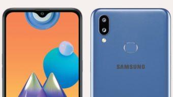 Samsung Galaxy M01s é um celular barato com chip MediaTek