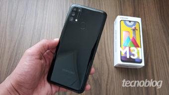 Samsung Galaxy M31: baita intermediário e com muita bateria