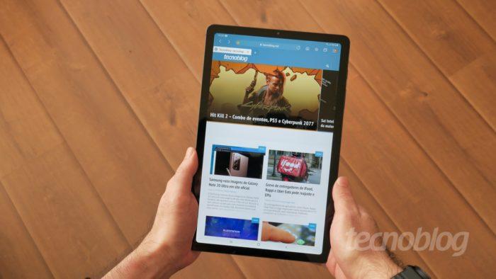 Samsung Galaxy Tab S6 Lite - Revisão