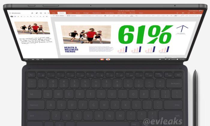 Ficha técnica de Galaxy Tab S7 aparece no Google Play Console (Foto: Reprodução/Twitter/Evan Blass/@evleaks)