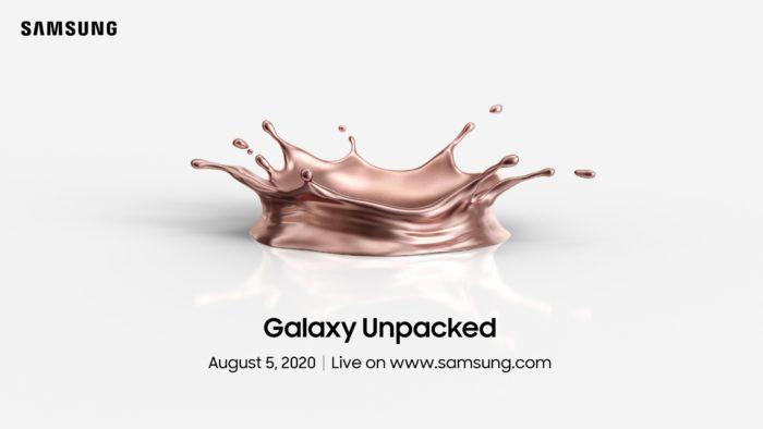 Convite para Samsung Unpacked 2020 (Foto: Divulgação/Samsung)