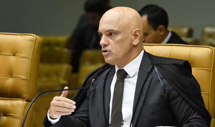 Ministro Alexandre de Moraes, do STF (Supremo Tribunal Federal) (Foto: Carlos Moura/SCO/STF - 19/02/2020)