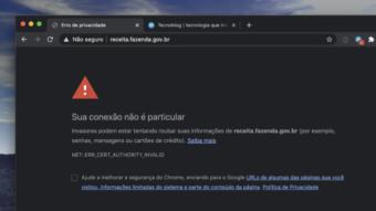 Os sites do governo finalmente vão parar de dar erros de certificado