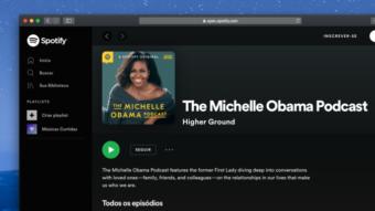 Spotify lança podcast exclusivo de Michelle Obama em 29 de julho