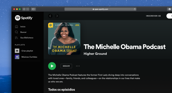 The Michelle Obama Podcast Spotify