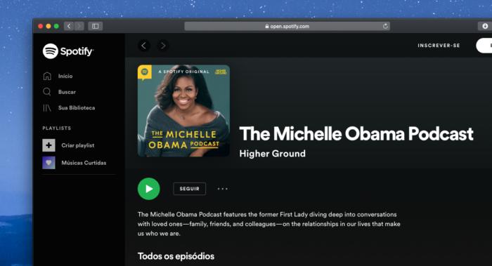 The Michelle Obama Podcast Spotify