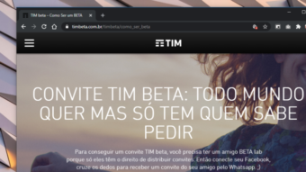 """Exclusivo: TIM Beta será reformulado em agosto com """"mais conteúdo"""""""