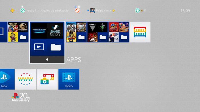 Como transferir dados de um PS4 para outro / Felipe Vinha / Reprodução