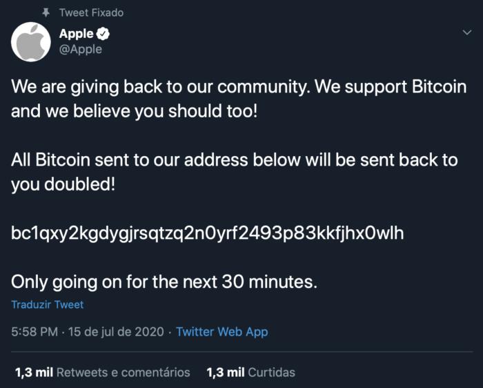 Twitter / Apple