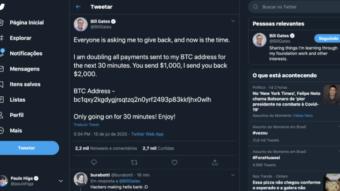 Twitter hackeado: contas famosas publicam fraude com bitcoins