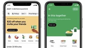 Uber vai fazer entregas de compras de supermercado no Brasil