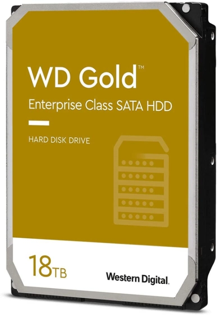 WD Gold de 18 TB