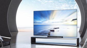 Xiaomi Mi TV Lux possui tela OLED de 120 Hz e Dolby Atmos