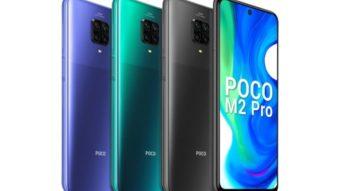 Xiaomi Poco M2 Pro tem bateria de 5.000 mAh e recarga de 33 W