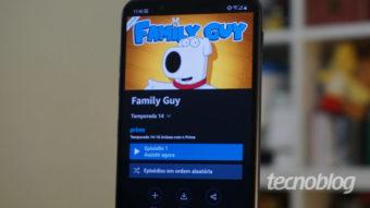 Amazon Prime Video testa botão para episódios aleatórios de séries