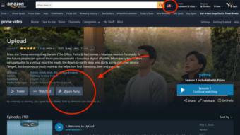 Como usar o Watch Party do Amazon Prime Video