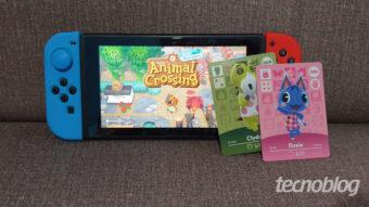 Como usar amiibo cards em Animal Crossing: New Horizons