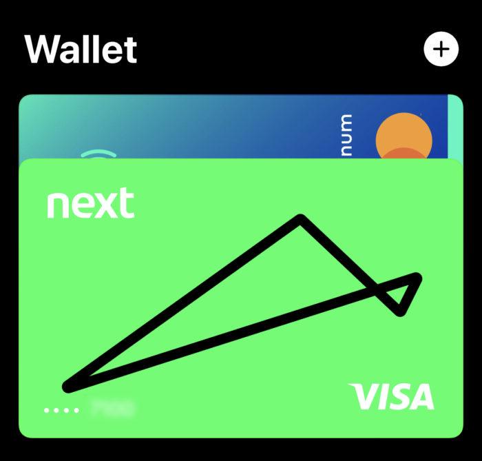 apple pay wallet banco next
