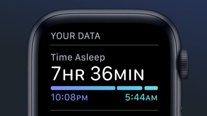 Apple Watch / Monitoramento de sono