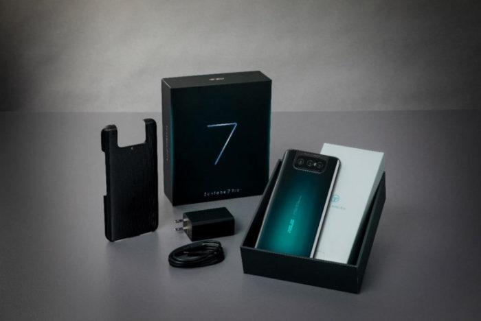 Asus lança Zenfone 7 e Zenfone 7 Pro com câmera tripla giratória (Foto: Divulgação/Asus)