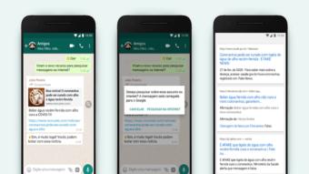 Como checar notícias falsas no WhatsApp [Pesquisar]