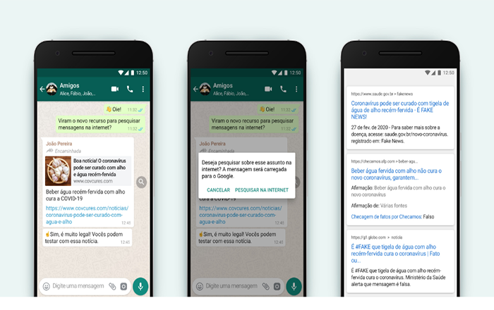 Como checar notícias falsas no WhatsApp