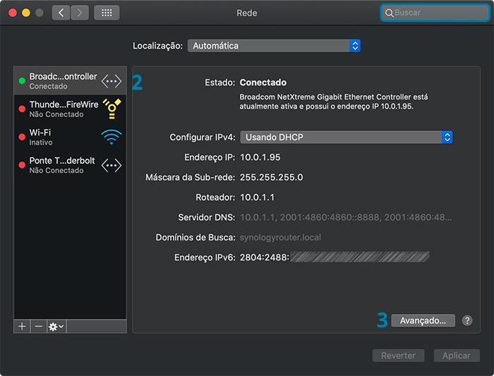 Como desativar o IPv6 no macOS