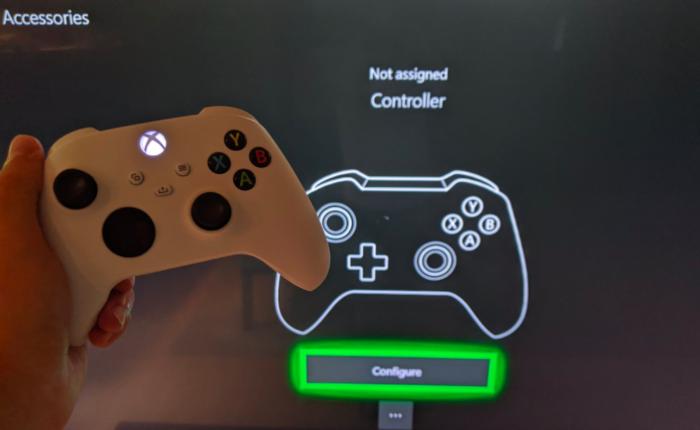 Controle do Xbox Series S surge em imagens /Reprodução / Zak S