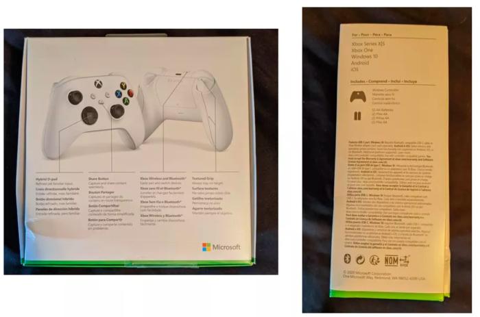 Controle do Xbox Series S surge em imagens /Reprodução / The Verge