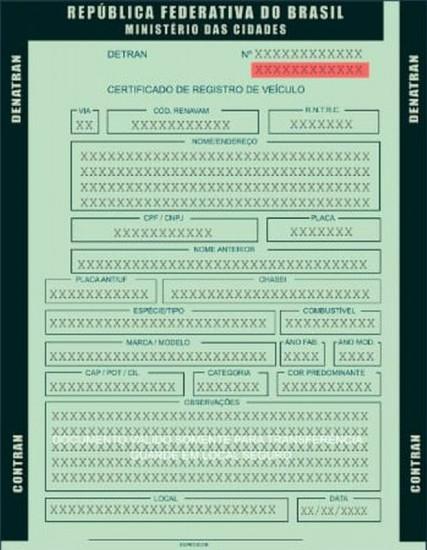 Código de Segurança do CRV