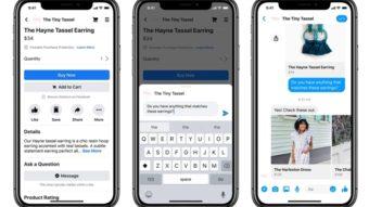 Facebook cria área para lojas e expande comércio via Instagram