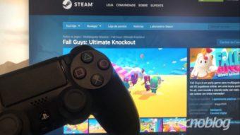 Como funciona o cross-play de Fall Guys?