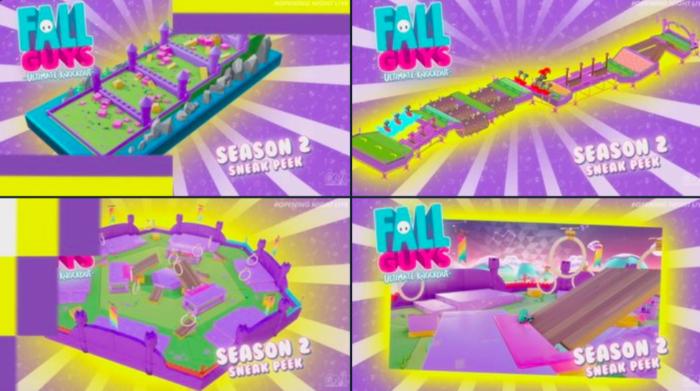 Fall Guys terá segunda temporada com novas fases medievais / Divulgação / Mediatonic