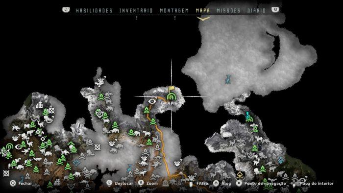 Localização do GAIA Prime